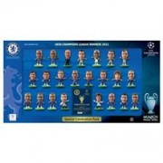 Set Figurine Soccerstarz Chelsea Champions League Celebration Pack 2012