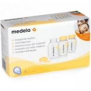 Комплект контейнери за кърма, 3 x 150 мл., Medela, 077461
