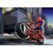Fototapet Disney Spiderman Motociclist - 160 x 115 cm