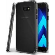 Husa Ringke Fusion Samsung Galaxy A3 2017 A320 Smoke black + BONUS folie protectie spate Ringke