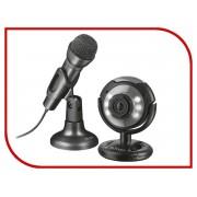Вебкамера Trust Spotlight Streaming Pack Black