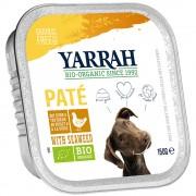 Yarrah Wellness Paté comida ecológica para perros 12 x 150 g - Pavo con aloe vera