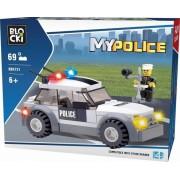 Joc constructie, My Police, Masina politie, 69 piese Blocki