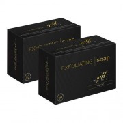 Eco Masters Gold Edition Eco Masters Exfoliating Soap – Tegen problemen met droge huid - 100g x 4