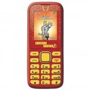 Lexibook GSM20AV Avengers Dual Sim Mobile Phone Crimson