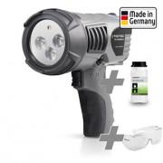 UV-TrackMaster + Yüksek Performanslı UV Sistemleri, UV Gözlüğü + Luminat 1 L