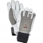 Hestra Army Leather Patrol - 5 Finger Grå