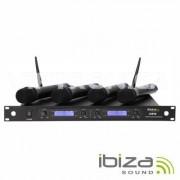 Ibiza UHF-40 Microfones sem Fio Microfone sem fios