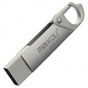 Maikou MK-008 USB OTG 2.0 flash llavero del disco de U - Plata (16 GB)