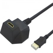 Cable HDMI M-F, v1.4, 5m, angled, Value 11.99.5515