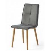 items-france LAS VEGAS - Lot de 4 chaises tissu 43x53x92/44cm