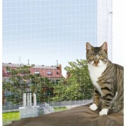 Trixie Cat Protect Kattnät Transparent 8x3 m