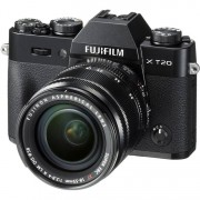 Fujifilm X-T20 + 18-55mm F/2.8-4 Xf R Lm Ois - Nera - Manuale Ita - 4 Anni Di Garanzia In Italia