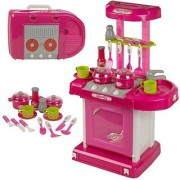 Luxury Battery Operated Kitchen Play Set Super Toy for Kids