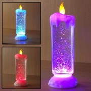 Amazing Color Changing Led Light Glitter Water Candle Candle Light - Diwali