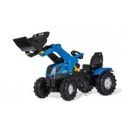Rolly Toys Rollyfarm tracktor New Holland - Rolly toys pedaltraktor 611256