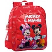 Ghiozdan 28 cm Mickey si Minnie