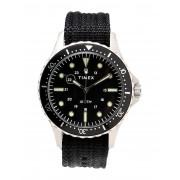メンズ TIMEX NAVY 41MM 腕時計 ブラック