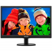 "MONITOR LED 18.5"" PHILIPS 193V5LSB2/55 HD VGA 16:9"