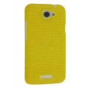 HTC One X / XL / X+ Slim Mesh Case - HTC Hard Case (Canary Yellow)