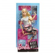 BARBIE MADE TO MOVE MATTEL FTG80