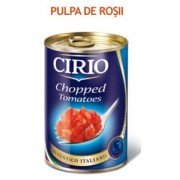 Rosii decojite tocate Cirio 400g
