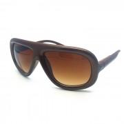 SHENYASHI SYS003 gafas de sol frescas gran marco - Cafe + Marron