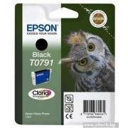EPSON Black Inkjet Cartridge for Stylus Photo R1400/ P50 (C13T07914010)