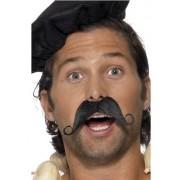 Mustata de francez, neagra