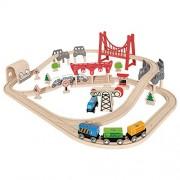 Hape-Double Loop Railway Set