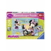 Puzzle Minnie Mouse, 2X24 Piese Ravensburger