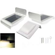 NTR LAMP56 Napelemes 1W 16LED 100lm 800mAh mozgás- és sötétedés érzékelős fali LED lámpa