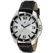 Fastrack Analog White Round Watch -3084SL01