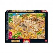 Educa Ókori Egyiptom puzzle, 1000 darabos