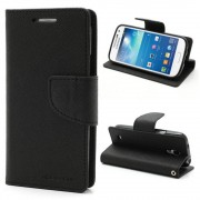 Mercury Pouzdro / kryt pro Samsung GALAXY S4 MINI I9195 - Mercury, Fancy Diary Black/Black
