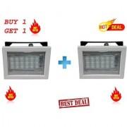 sahu lite Rechargeable 786-18 LED SQR white Emergency Lights (Buy 1 Get 1 Free)