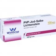 Zentiva Pharma GmbH Pvp Jod Salbe Lichtenstein 100 g