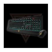 Kit Gamer de Teclado y Mouse Gamdias Ares 7 Color Combo Incluye Ares 7 Color + Ourea FPS, Alámbrico, USB, Negro (Inglés)
