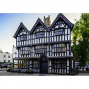 Puzzle Grafika - Black & White House Museum in Hereford, 1.000 piese (02920)