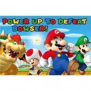Amscan Super Mario BrothersTM Juego de Fiesta, Recuerdo de Fiesta