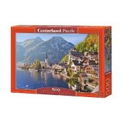Puzzle Hallstatt - Austria, 500 piese