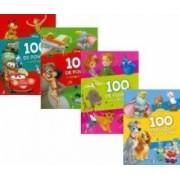 Set 4 carti Disney 100 de povesti cu eroii preferati