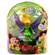 Disney Fairies 3.5 Tinker Bell and the Lost Treasure Doll Works with Flitterific Wand-Tinkerbell