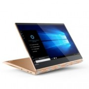"Хибриден лаптоп Lenovo Yoga 920 (80Y7005FBM)(мед), четириядрен Kaby Lake R Intel Core i7-8550U 1.8/4.0 GHz, 13.9"" (35.30 cm) UHD IPS LED-Backlit Multitouch Display, (Thunderbolt), 8GB DDR4, 512GB SSD, 2x USB C, Windows 10, 1.37kg"
