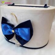 Cutie Dar Botez Royal Blue