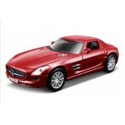 Maisto - Power Kruzerz Pull Back Action Mercedes Benz SLS AMG