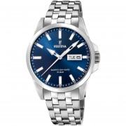 Reloj F20357/3 Plateado Festina Hombre Acero Clasico Festina