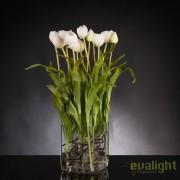 Aranjament floral elegant SQUARE TULIP BABY PINK 1141703.23