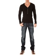 Jeans Slimmy 7 For All Mankind Bleu Fonce