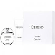Calvin Klein Obsessed For Women Комплект (EDP 50ml + BL 100ml) за Жени
